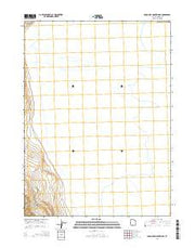 Crocodile Mountain SE Utah Current topographic map, 1:24000 scale, 7.5 X 7.5 Minute, Year 2014 from Utah Maps Store