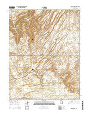 Cross Canyon Utah Current topographic map, 1:24000 scale, 7.5 X 7.5 Minute, Year 2014 from Utah Maps Store