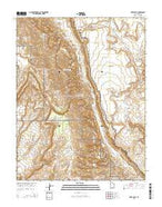 Deer Point Utah Current topographic map, 1:24000 scale, 7.5 X 7.5 Minute, Year 2014 from Utah Map Store