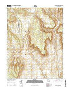Deer Spring Point Utah Current topographic map, 1:24000 scale, 7.5 X 7.5 Minute, Year 2014 from Utah Map Store