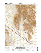 Delle Utah Current topographic map, 1:24000 scale, 7.5 X 7.5 Minute, Year 2014 from Utah Map Store