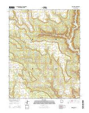 Devil Mesa Utah Current topographic map, 1:24000 scale, 7.5 X 7.5 Minute, Year 2014 from Utah Maps Store