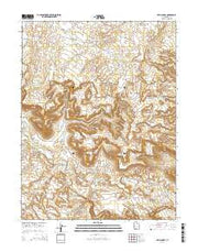 Devils Hole Utah Current topographic map, 1:24000 scale, 7.5 X 7.5 Minute, Year 2014 from Utah Maps Store