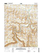 Dewey Utah Current topographic map, 1:24000 scale, 7.5 X 7.5 Minute, Year 2014 from Utah Maps Store