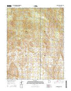 Dodge Spring Utah Current topographic map, 1:24000 scale, 7.5 X 7.5 Minute, Year 2014 from Utah Map Store