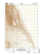 Dolphin Island West Utah Current topographic map, 1:24000 scale, 7.5 X 7.5 Minute, Year 2014 from Utah Map Store