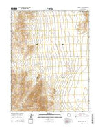 Dowdell Canyon Utah Current topographic map, 1:24000 scale, 7.5 X 7.5 Minute, Year 2014 from Utah Map Store