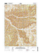 Dragon Utah Current topographic map, 1:24000 scale, 7.5 X 7.5 Minute, Year 2014 from Utah Map Store