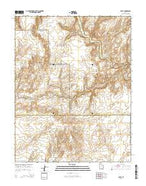 Egypt Utah Current topographic map, 1:24000 scale, 7.5 X 7.5 Minute, Year 2014 from Utah Map Store