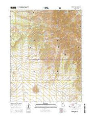 Erickson Knoll Utah Current topographic map, 1:24000 scale, 7.5 X 7.5 Minute, Year 2014 from Utah Maps Store