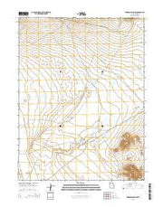 Erickson Wash SW Utah Current topographic map, 1:24000 scale, 7.5 X 7.5 Minute, Year 2014 from Utah Maps Store
