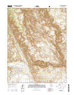 Escalante Utah Current topographic map, 1:24000 scale, 7.5 X 7.5 Minute, Year 2014 from Utah Map Store