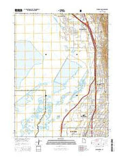 Farmington Utah Current topographic map, 1:24000 scale, 7.5 X 7.5 Minute, Year 2014 from Utah Maps Store