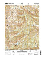 Ferron Reservoir Utah Current topographic map, 1:24000 scale, 7.5 X 7.5 Minute, Year 2014 from Utah Map Store