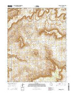 Fiddler Butte Utah Current topographic map, 1:24000 scale, 7.5 X 7.5 Minute, Year 2014 from Utah Map Store