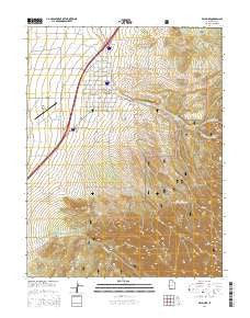 1:24000 Scale Updated 2003 7.5 X 7.5 Minute 2000 YellowMaps Mount Fillmore CA topo map Historical 26.5 x 21.9 in