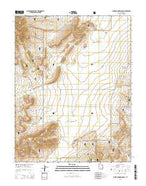 Flake Mountain East Utah Current topographic map, 1:24000 scale, 7.5 X 7.5 Minute, Year 2014 from Utah Map Store