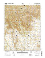Flake Mountain West Utah Current topographic map, 1:24000 scale, 7.5 X 7.5 Minute, Year 2014 from Utah Map Store