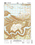Flaming Gorge Utah Current topographic map, 1:24000 scale, 7.5 X 7.5 Minute, Year 2014 from Utah Map Store