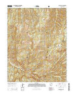 Flanigan Arch Utah Current topographic map, 1:24000 scale, 7.5 X 7.5 Minute, Year 2014 from Utah Map Store