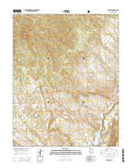 Gunlock Utah Current topographic map, 1:24000 scale, 7.5 X 7.5 Minute, Year 2014 from Utah Map Store