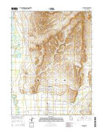 Gunnison Utah Current topographic map, 1:24000 scale, 7.5 X 7.5 Minute, Year 2014 from Utah Map Store