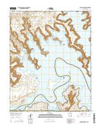 Gunsight Butte Utah Current topographic map, 1:24000 scale, 7.5 X 7.5 Minute, Year 2014 from Utah Map Store
