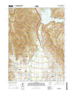 Heber City Utah Current topographic map, 1:24000 scale, 7.5 X 7.5 Minute, Year 2014 from Utah Map Store