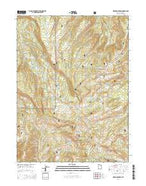 Heber Mountain Utah Current topographic map, 1:24000 scale, 7.5 X 7.5 Minute, Year 2014 from Utah Map Store