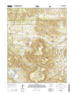 Hebron Utah Current topographic map, 1:24000 scale, 7.5 X 7.5 Minute, Year 2014 from Utah Map Store