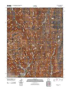 Hildale Utah Historical topographic map, 1:24000 scale, 7.5 X 7.5 Minute, Year 2011