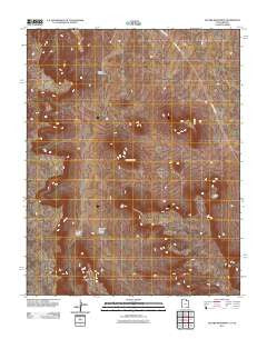 Jacobs Monument Utah Historical topographic map, 1:24000 scale, 7.5 X 7.5 Minute, Year 2011