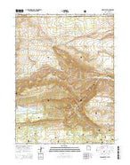 Jessen Butte Utah Current topographic map, 1:24000 scale, 7.5 X 7.5 Minute, Year 2014 from Utah Map Store