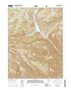 Jimmies Point Utah Current topographic map, 1:24000 scale, 7.5 X 7.5 Minute, Year 2014 from Utah Map Store