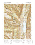 Joes Valley Reservoir Utah Current topographic map, 1:24000 scale, 7.5 X 7.5 Minute, Year 2014 from Utah Map Store