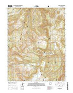 Johns Peak Utah Current topographic map, 1:24000 scale, 7.5 X 7.5 Minute, Year 2014 from Utah Map Store