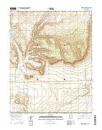 Johnson Lakes Utah Current topographic map, 1:24000 scale, 7.5 X 7.5 Minute, Year 2014 from Utah Map Store