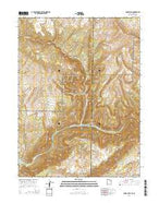 Jones Hole Utah Current topographic map, 1:24000 scale, 7.5 X 7.5 Minute, Year 2014 from Utah Map Store