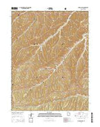 Jones Hollow Utah Current topographic map, 1:24000 scale, 7.5 X 7.5 Minute, Year 2014 from Utah Map Store