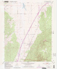 Kanarraville Utah Historical topographic map, 1:24000 scale, 7.5 X 7.5 Minute, Year 1950