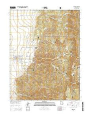 Levan Utah Current topographic map, 1:24000 scale, 7.5 X 7.5 Minute, Year 2014 from Utah Maps Store