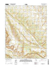 Lisbon Valley Utah Current topographic map, 1:24000 scale, 7.5 X 7.5 Minute, Year 2014 from Utah Maps Store