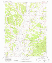 Mc Intyre Utah Historical topographic map, 1:24000 scale, 7.5 X 7.5 Minute, Year 1954