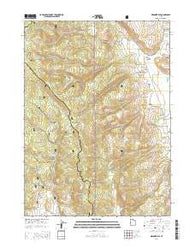 Meadowville Utah Current topographic map, 1:24000 scale, 7.5 X 7.5 Minute, Year 2014
