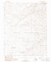 Mexican Hat SW Utah Historical topographic map, 1:24000 scale, 7.5 X 7.5 Minute, Year 1988