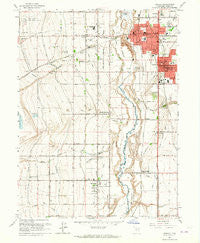 Midvale Utah Historical topographic map, 1:24000 scale, 7.5 X 7.5 Minute, Year 1963