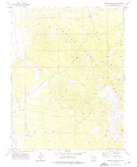 Miners Cabin Wash Utah Historical topographic map, 1:24000 scale, 7.5 X 7.5 Minute, Year 1972