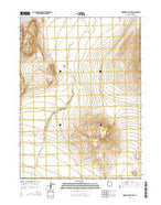 Monument Peak SW Utah Current topographic map, 1:24000 scale, 7.5 X 7.5 Minute, Year 2014 from Utah Map Store