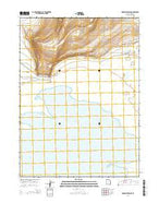 Monument Point Utah Current topographic map, 1:24000 scale, 7.5 X 7.5 Minute, Year 2014 from Utah Map Store