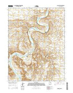 Moon Bottom Utah Current topographic map, 1:24000 scale, 7.5 X 7.5 Minute, Year 2014 from Utah Map Store